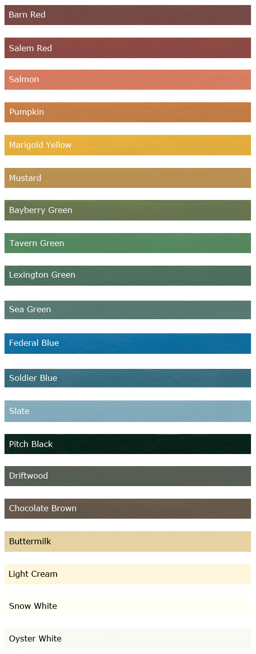 Milk Paint Colors