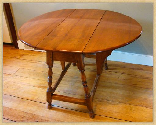 Maple Butterfly Table, Open