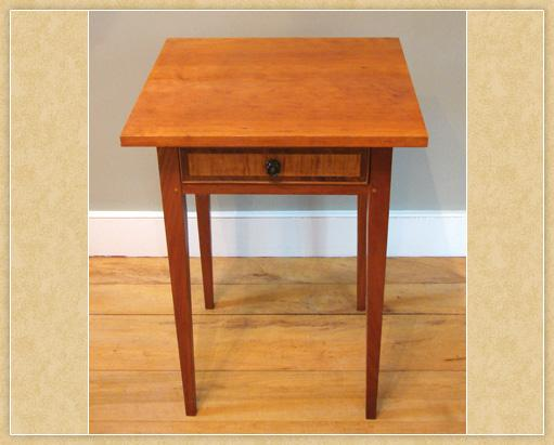 New England End Table, Top