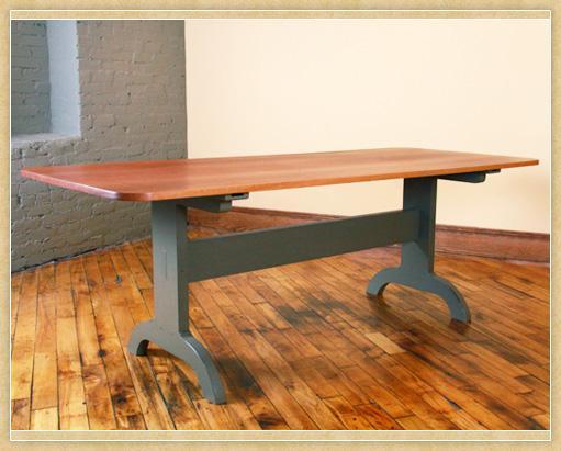 Union Village Trestle Table, Bottom