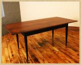Maple Work & Dining Table, Without chairs